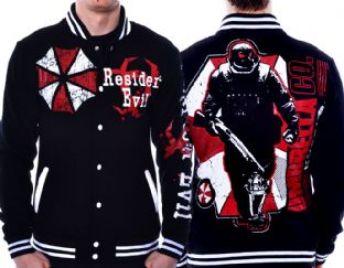 Resident Evil Umbrella Varsity Jacket